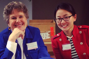 Authors Phyllis Reynolds Naylor and Marie Lu