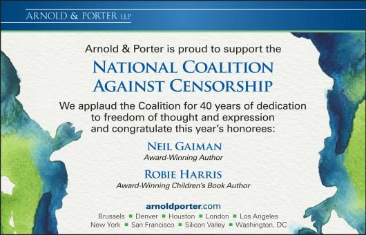Arnold&Porter NCAC 2014 Ad
