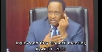 Inglewood Mayor Using Copyright for Censorship
