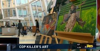 Removing Peltier Art From Government Building Raises First Amendment Concerns