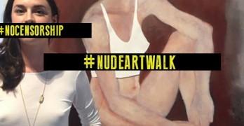 Shameless in Lafayette: Nude ArtWalk !