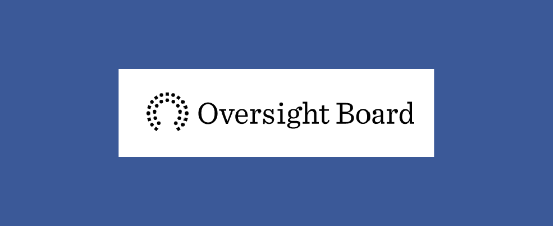 Facebook Oversight Board logo