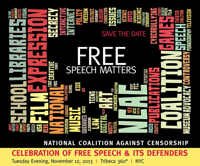 Free Speech Matters | Save the Date